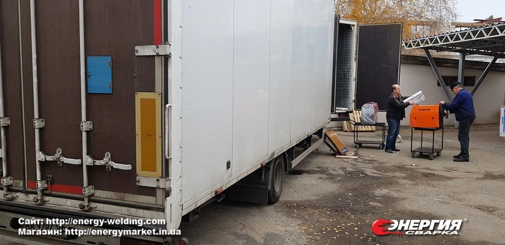 Поставка сварочного оборудования Энергия Сварка на Дарницкий вагоноремонтный завод фото 2