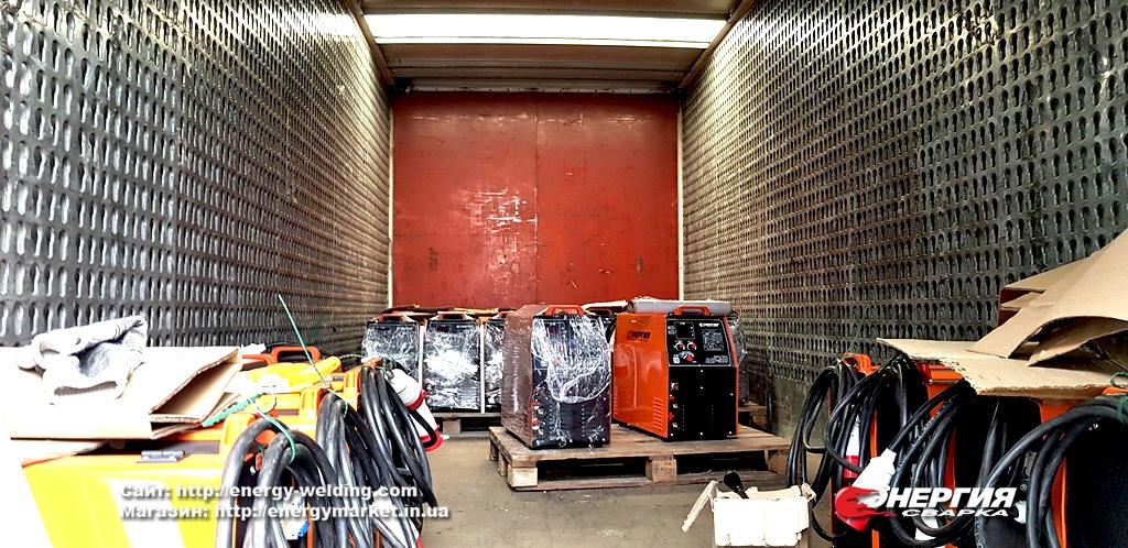Поставка сварочного оборудования Энергия Сварка на Дарницкий вагоноремонтный завод фото 4