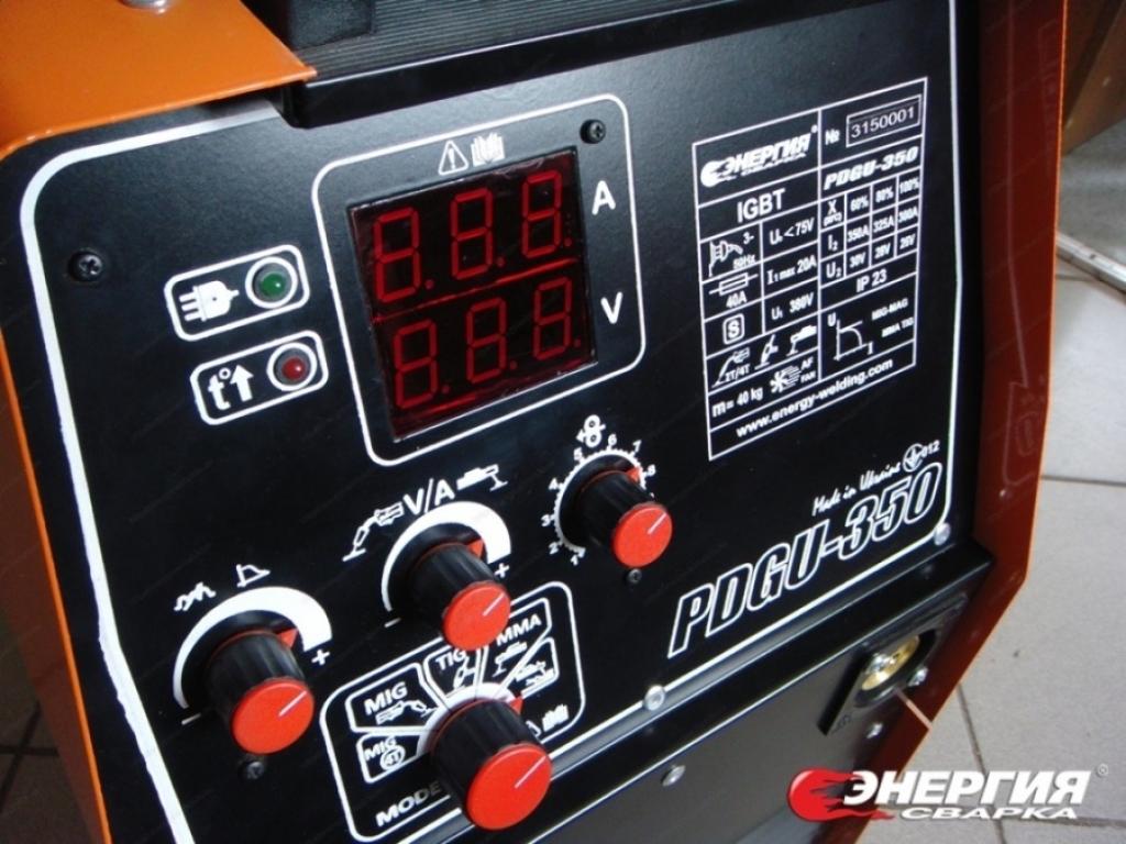 5.Сварочный инвертор полуавтомат ПДГУ-350 Энергия Сварка г.Запорожье