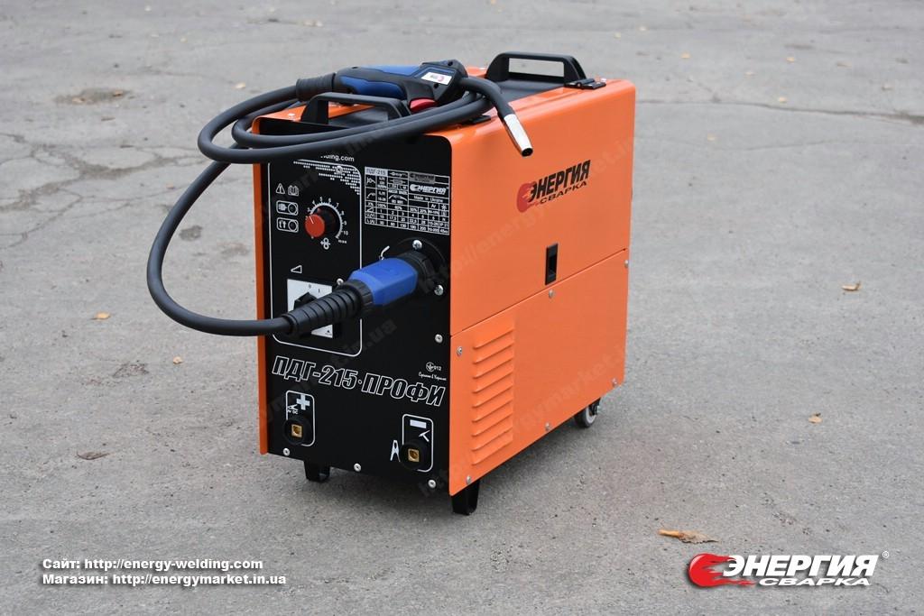 4.Новые модели сварочных полуавтоматов, ПДГ - 215 и ПДГ-216, производитель сварочного оборудованияЭнергия Сварка, Украина