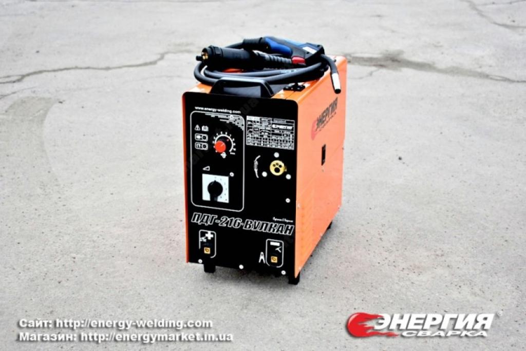 10.Анонс. Сварочный полуавтомат ПДГ- 216 ВУЛКАН Энергия Сварка