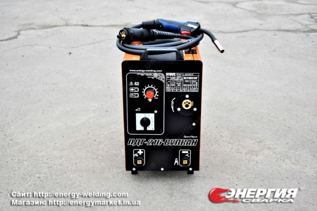 11.Анонс. Сварочный полуавтомат ПДГ- 216 ВУЛКАН Энергия Сварка