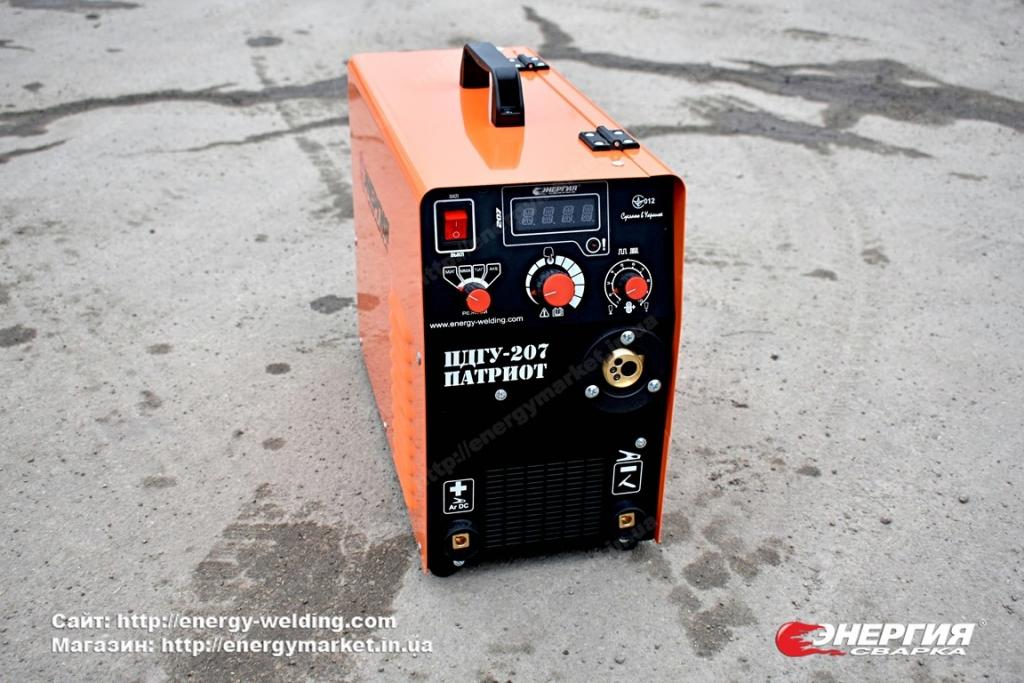 1.Сварочный инвертор полуавтомат ПДГУ-207 Патриот Энергия Сварка..Фотообзор