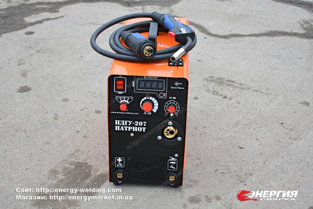 13.Сварочный инвертор полуавтомат ПДГУ-207 Патриот Энергия Сварка..Фотообзор