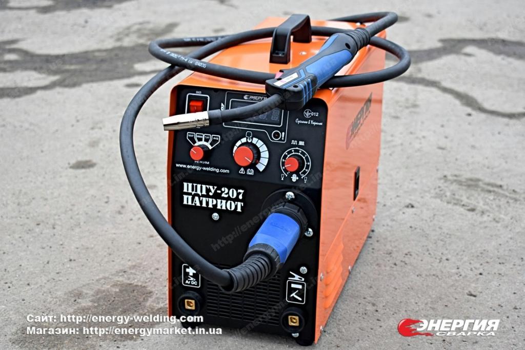 16.Сварочный инвертор полуавтомат ПДГУ-207 Патриот Энергия Сварка..Фотообзор