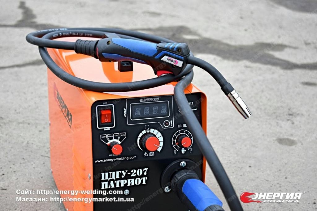 19.Сварочный инвертор полуавтомат ПДГУ-207 Патриот Энергия Сварка..Фотообзор