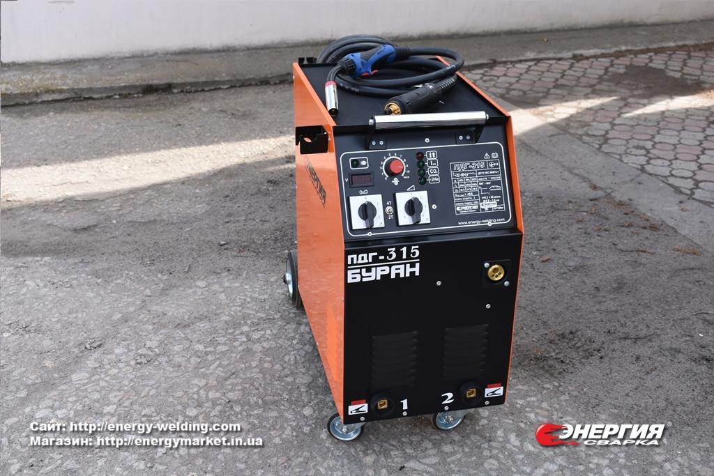 Гид покупателя # 9  Cварочный полуавтомат ПДГУ-315 Буран.