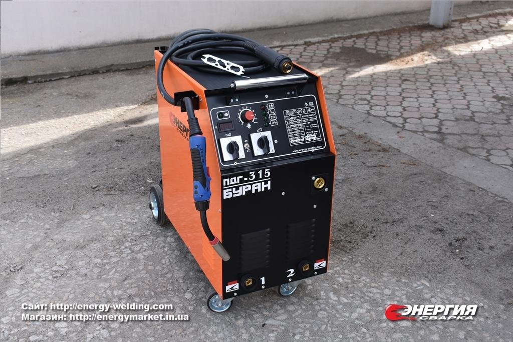 Гид покупателя # 11  Cварочный полуавтомат ПДГУ-315 Буран.